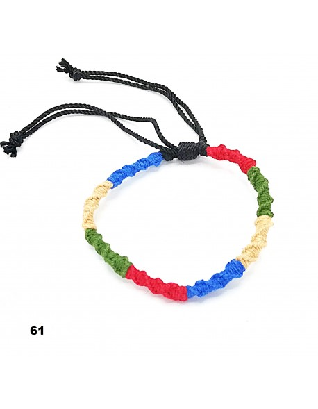 BRACELET WITH A FLAG LATERAL