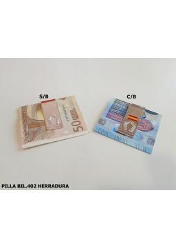 PILLA BILLETE HERRADURA
