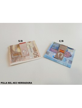 PILLA BILLETE HERRADURA