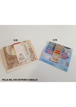PILLA BILLETE ESTRIBO CABALLO