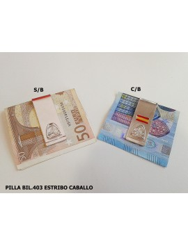 PILLA BILLETE ESTRIBO CABALLO