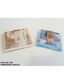 PILLA BILLETE HERRADURA CABALLO
